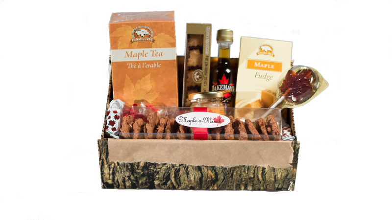 Maple Crate sample box